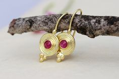 Gold Ruby Earrings Solid Gold Earrings Ethnic Gold Earrings | Etsy Gold Ruby Earrings, Solid Gold Earrings, Ethnic Gold Earrings, 18k Gold Earrings, Boho Earrings, 14k Gold Earrings, 22k Gold Jewelry, Indian #earrings #ORITSOSNER 18k Gold Earrings, Indian Earrings, Unique Earrings, Bridal Earrings, Boho Earrings, Gold Necklace, Jewelry Gifts, Gold Jewelry, Boho Wedding Ring