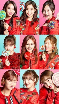 "TWICE -Japan 2nd Single ""Candy Pop"""