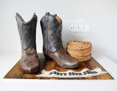 There's a cake in my boots! by cindyscakecreations