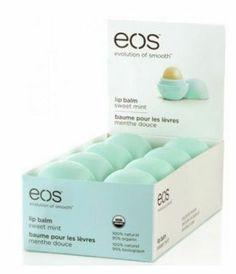EOS (e.o.s.) Lip Balm Sweet Mint Smooth Spheres Lip Balm ( 8 Pack) 1 Case - Lip Balm  Treatments