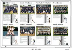 I think we are incorporating team pics into the spreads??? But if not this would be cool