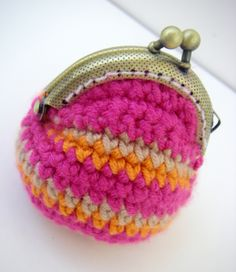 Handmade Mini Crochet Coin Purse