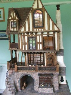 doll house Tudor dolls houses and fantasy dolls houses - Gerry Welch Manorcraft Dolls Houses Tudor dolls houses and fantasy dolls houses - Gerry Welch Manorcraft Dolls Houses