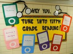 Fifth Grade Classroom Themes | Tune Into Fifth Grade Reading - MyClassroomIdeas.com