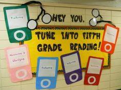 Fifth Grade Classroom Themes | Tune Into Fifth Grade Reading - MyClassroomIdeas.com
