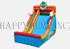 24'' Single Lane Slide - Circus