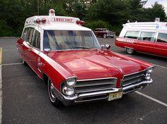 1965 Pontiac Superior ambulance
