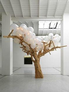 Risultati immagini per jacob hashimoto artist Artistic Installation, Light Installation, Paper Installation, Balloon Tree, Hansel Y Gretel, Instalation Art, Cardboard Sculpture, Free To Use Images, Stage Design