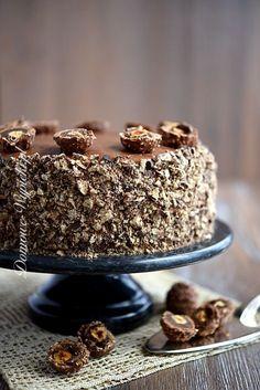 Great Desserts, Cookie Desserts, No Bake Desserts, Polish Desserts, Polish Recipes, Sweet Recipes, Cake Recipes, Dessert Recipes, Torte Cake