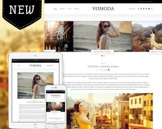 Vomoda is an ultra stylish WordPress magazine & blog theme created for 2015 and beyond!