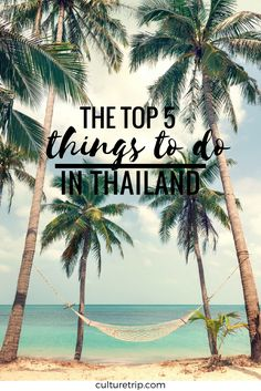 Top 5 Things You Must Do in Thailand