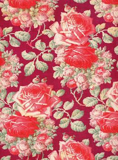 Roller printed cotton cloth from Russia, early twentieth century. This was an expensive fabric to print. It required eight copper rollers (one for each color) by Susan Meller from Russian Textiles: Printed Cloth for the Bazaars of Central Asia. via fiveoclockcrows
