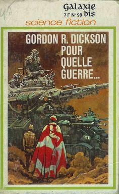 """Couverture pour Gordon R. Dickson """"Pour quelle guerre…"""" (""""Soldier, Ask Not"""") Moebius"""