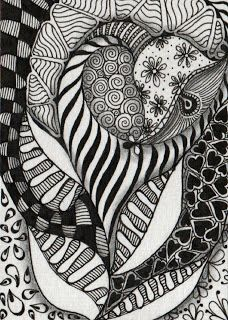 Creative Doodling with Judy West: Floral Designs