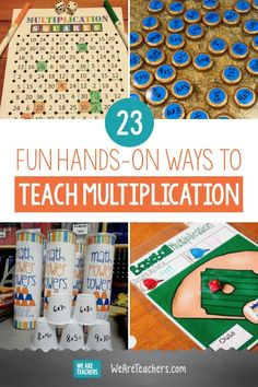 23 Fun Hands-on Ways to Teach Multiplication - WeAreTeachers