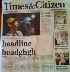 28 newspaper and magazine layout disasters buzzfeed - 236×242