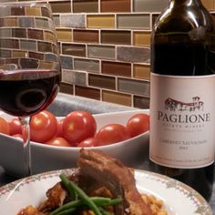 March 20, 2016 - Paglione Estate Winery 2013 Cabernet Sauvignon with Slow Cooker Beef Short Ribs. Dinner's Ready! Look forward to Paglione's Cabernet Sauvignon served with a comforting slow cooker meal after some spring cleaning! - See more at: http://www.essexcountywineries.ca/wines/2016/20160320.htm#sthash.5oh8nyIx.dpuf