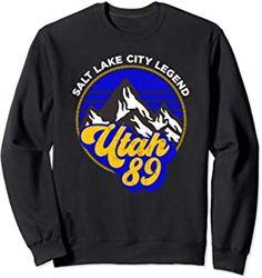 30th Birthday Utah 89 salt lake city legend Sweatshirt