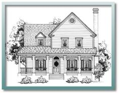 Authentic Historical Designs, LLC House Plan victorian farmhouse