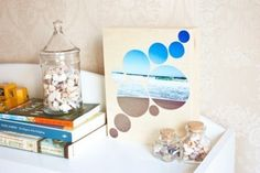 Идея создания картины с фотографиями моря SKRMASTER.BY — Handmade ярмарка Беларусь