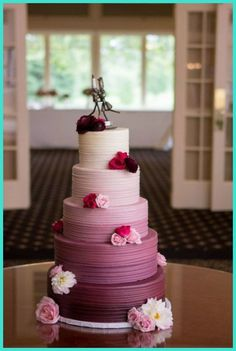 Wedding Cakes - Unique Acrylic Wedding Cake Stands For Your Big Day -- Click image to read more details. #WeddingCakes