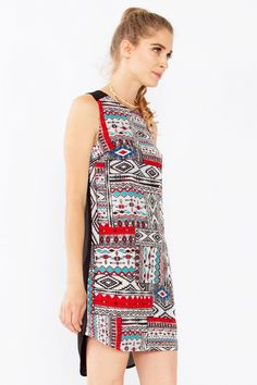 Aztec Art Shift Dress