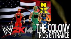 WWE 2K14 - The Colony Trio Entrance
