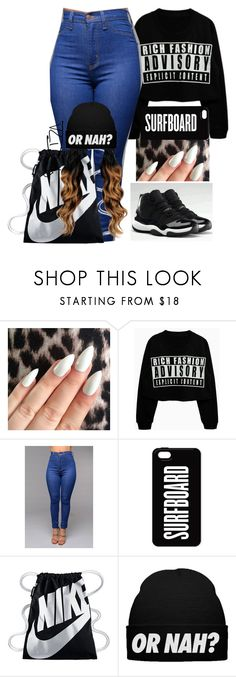 """EXPLICIT"" by fashionismypashion476589 ❤ liked on Polyvore featuring NIKE"