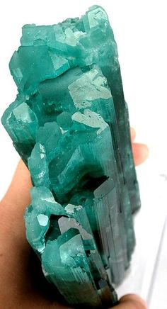 Indicolite (Blue Tourmaline) - Use Indicolite to increase commitment to and passion for your work, or to change careers to one closer to your heart.