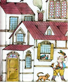 my vintage book collection (in blog form).: The Cat and the Fiddler - illustrated by Lionel Kalish
