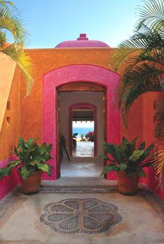 wow...entry!!!  Luxury hotel & retreat Las Alamandas 9, Mexican Riviera