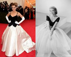 6a7261bea04 Best Dressed Met Gala 2014 - Old Hollywood Red Carpet Gowns Old Hollywood  Glamour, Hollywood