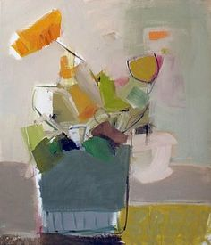 ❀ Blooming Brushwork ❀ - garden and still life flower paintings - Chloe Lamb at Josie Eastwood Fine Art