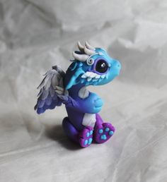 Bitty Angel Dragon Reserved for Amy by BittyBiteyOnes on Etsy