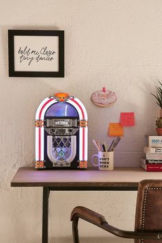 Victrola Desktop Bluetooth Jukebox | Urban Outfitters