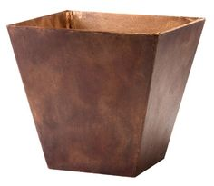 Novelty 35127 Square Ella Planter Teak *** Details can be found by clicking on the image.
