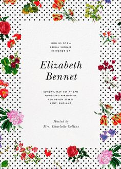 Botanical Dot by Oscar de la Renta for Paperless Post.  Create beautiful bridal shower invitations with our easy-to-use design tools and RSVP tracking. Available online or on paper. View more wedding-related invitations on paperlesspost.com.