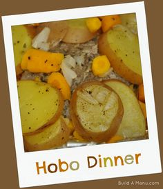 Here's a great gluten free recipe for 2 that can easily be doubled or tripled.  Only cost about $5.50 for ingredients at most stores.  Get the recipe here: http://www.buildamenu.com/blog/hobo-dinner/ #glutenfree #cookingfor2 #buildamenu
