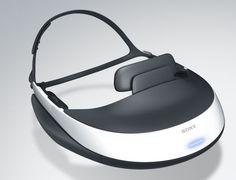 Sony HMZ-T1 3D HD OLED head-mounted display