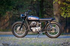Honda CB 350 Bobber By Dirty Seven Motorcycles