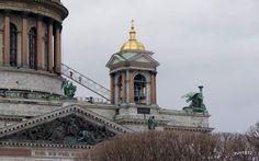 Верхняя колоннада собора и колоколенка