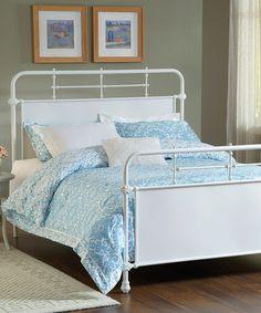 Look at this #zulilyfind! Textured White Kensington Bed Set #zulilyfinds  ($279) Queen