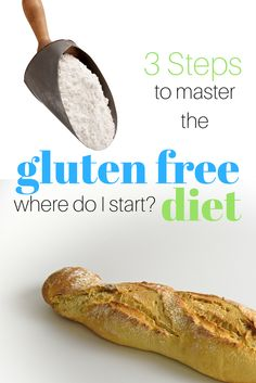 If you are starting a gluten free diet here is a gluten free for beginners three step guide. Learning how to eat gluten free is now a lot less stressful.