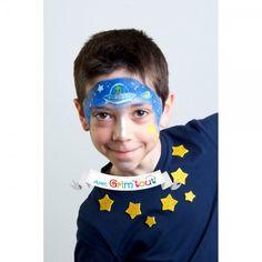 Maquillage enfant - Pochoir maquillage Grim'Tout  - Galaxie