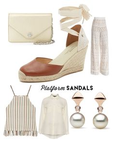 """Untitled #96"" by meeps01 on Polyvore featuring Soludos, Tory Burch, Alice + Olivia, Miguelina and navabi"