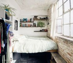 These tiny rooms make designing a college bedroom or studio apartment seem too easy to be true.