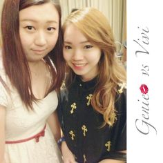"@geniecullen's photo: ""With @vivi153 at #generationbeautytalk2013 #today #sunday #awesome #happy #girl #talk #mivva #penang #cititel"""