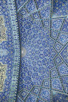Shah Mosque, Isfahan, Iran.