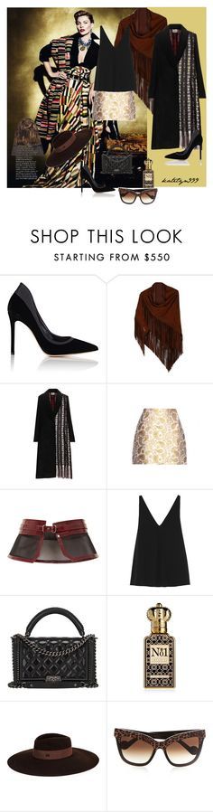 """""""You're stronger than you believe...!"""" by katelyn999 ❤ liked on Polyvore featuring Gianvito Rossi, Edun, STELLA McCARTNEY, Carolina Herrera, Chanel, Clive Christian, Maison Michel, Anna-Karin Karlsson, Etro and StellaMcCartney"""