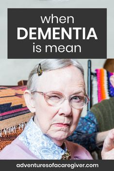 Dementia can have a mean side. See how one caregiver copes. behaviors Source by recoveringhappiness and me activities Dealing With Dementia, Stages Of Dementia, Lewy Body Dementia, Dementia Symptoms, Vascular Dementia Stages, Early Onset Dementia, Alzheimer's Symptoms, Alzheimer Care, Dementia Care